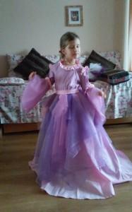 Šatičky princezná
