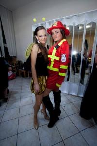 Včielka a hasička