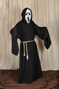 150 Plášť mnícha, maska vreskot