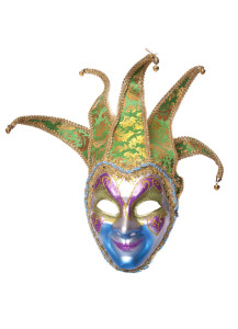 A63 Benátska maska