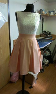 Spoločenské dievčenské šaty