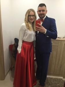 Trendová maxi kruhová sukňa