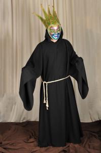 150 Plášť mnícha, benátska maska