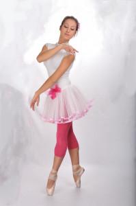 187 Ružová baletka