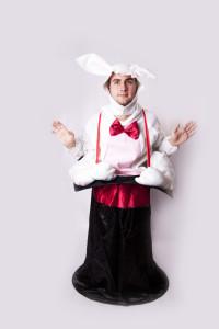 Zajac v klobúku